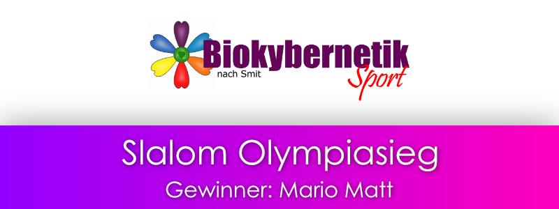Olympiasieg im Slalom